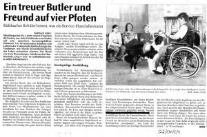 3 - Ein treuer Butler und Freund auf vier Pfoten